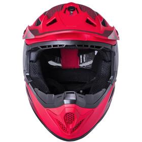 Kali Zoka Dash Helmet, matt red/burgundy